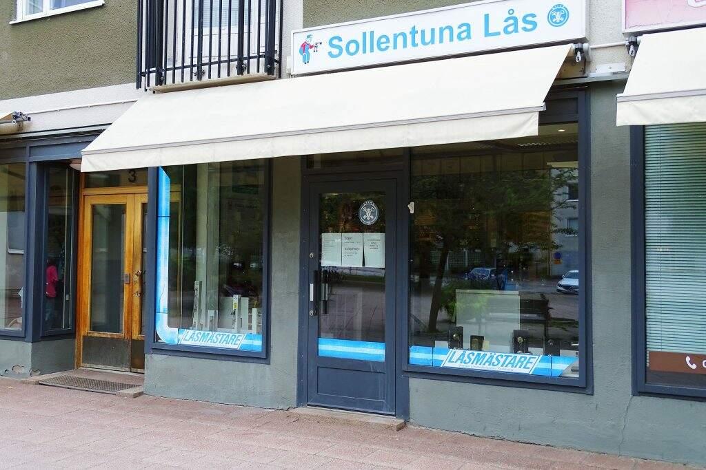 Vår butik i Sollentuna